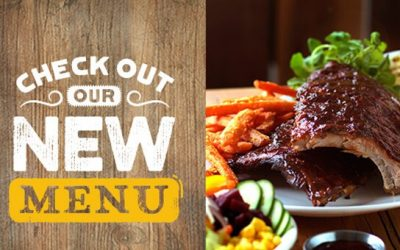 Revised Menu now available!!